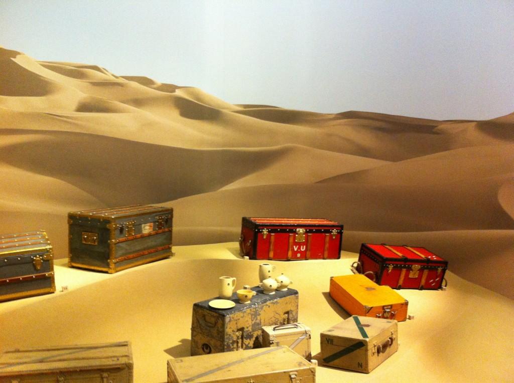 Exposition Louis Vuitton malles de voyage